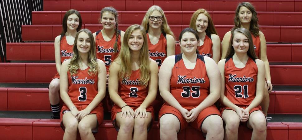 2019 Canton Warriors Varsity Girls Basketball Roster