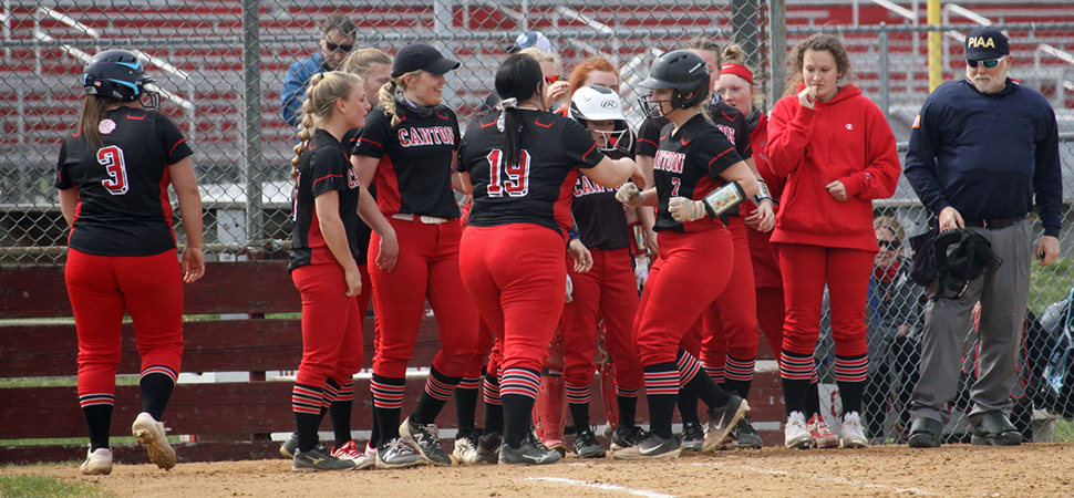 Lady Warriors rally to top Liberty 10-9 on Shay walk-off single.