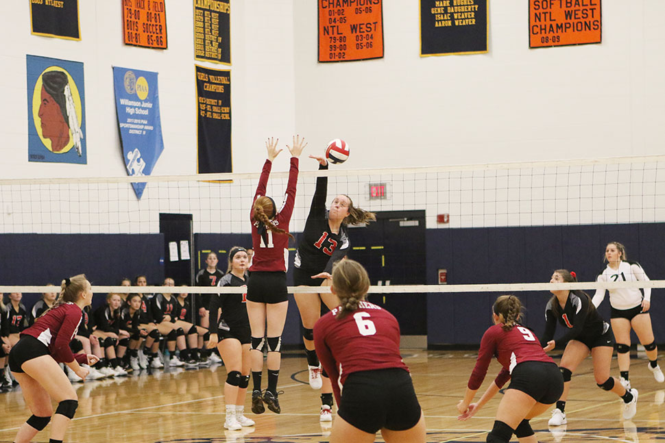 Lady Warriors advance in PIAA volleyball playoffs