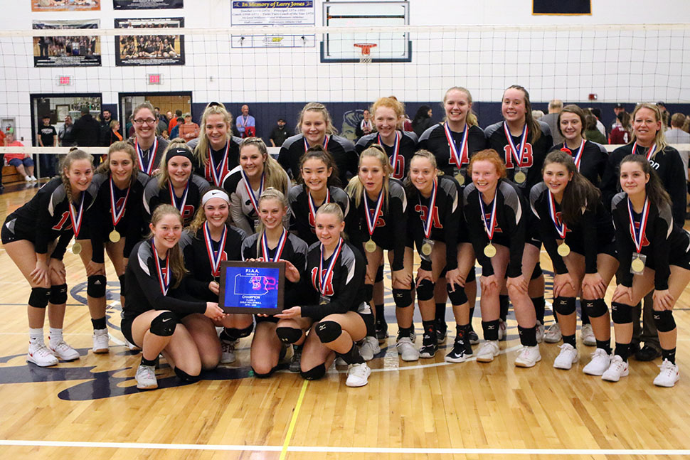 Lady Warriors claim third consecutive D4 Class A title
