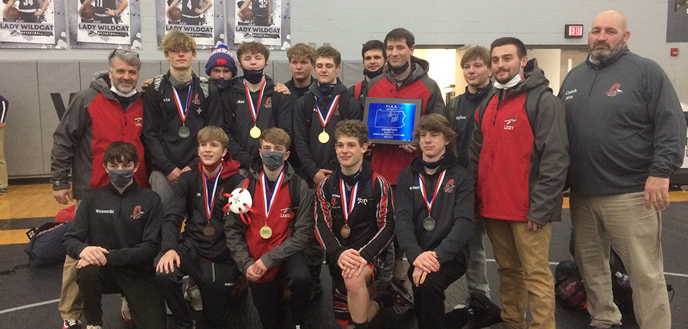 Canton wins North Section Wrestling crown