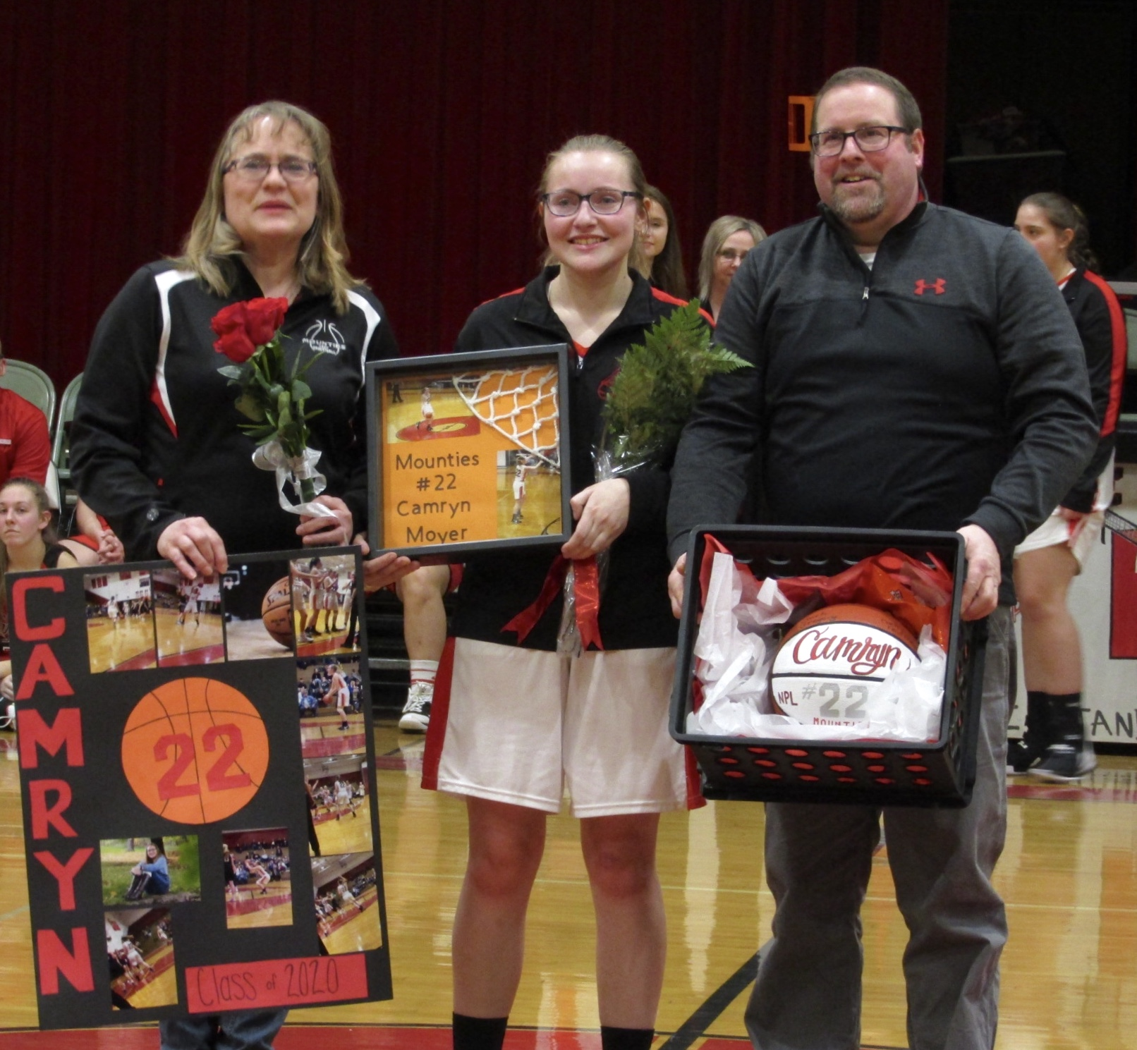 Lady Mounties suffer defeat on Senior Night to Canton