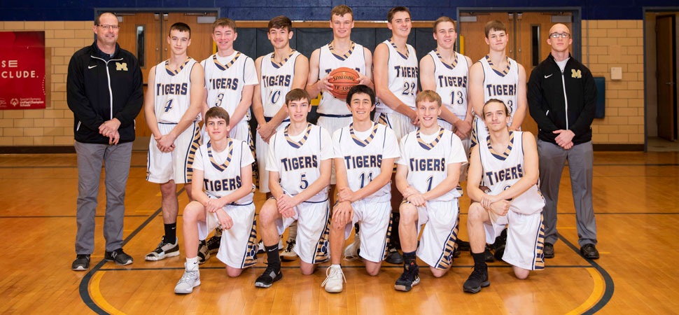 2019 North Penn-Mansfield Tigers Varsity Boys Basketball Roster