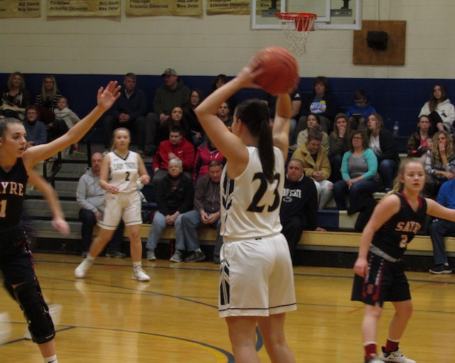 Lady Tigers top Cowanesque Valley Lady Indians