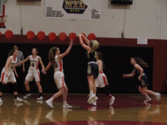 Lady Tigers top Lady Mounties twice in a Row