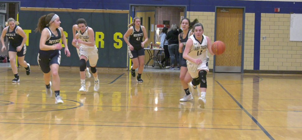 Lady Tigers falls to Muncy in District playoffs