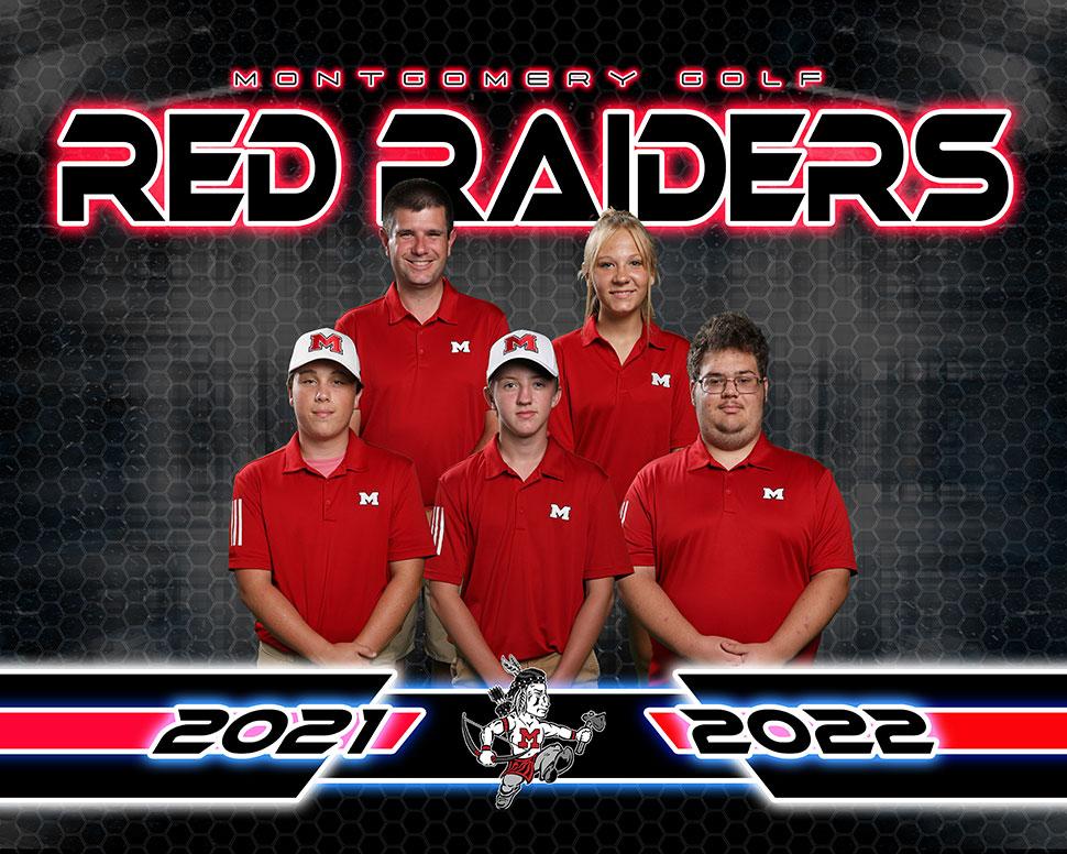 2021 Montgomery Red Raiders Varsity Golf Roster