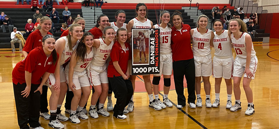 Renno scores 1,000th career point