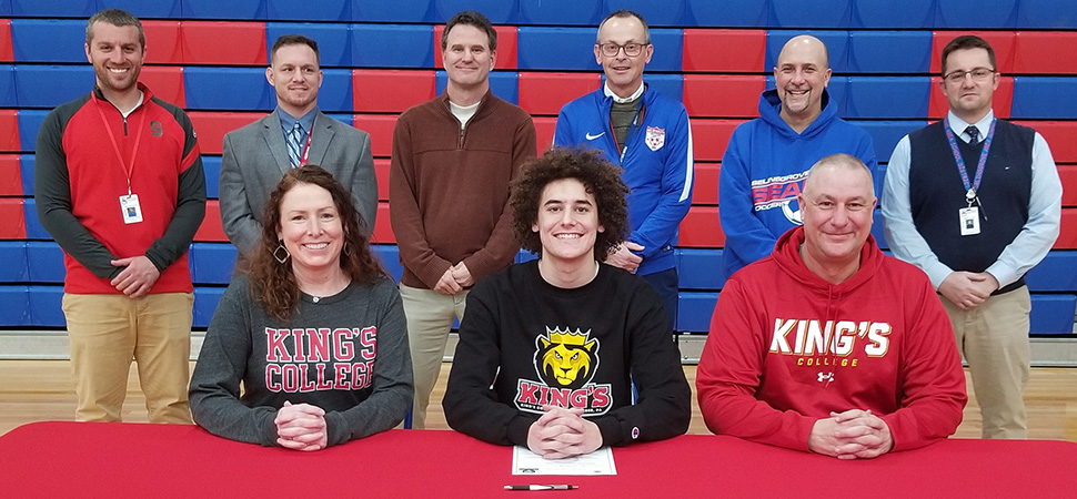 Cole Catherman - King's College (boys soccer)