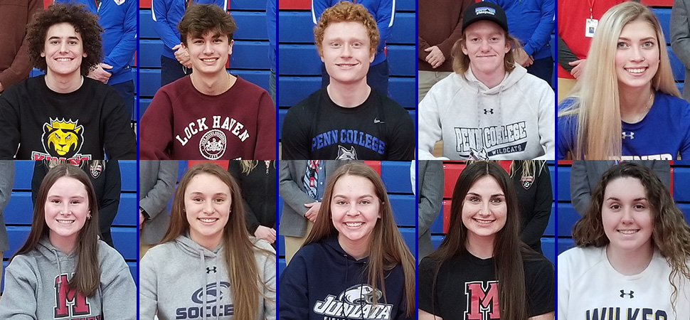 10 Seals Sign National Letters of Intent.