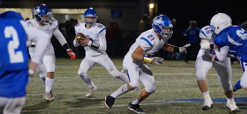 Week 8: Seals Rout Central Mountain