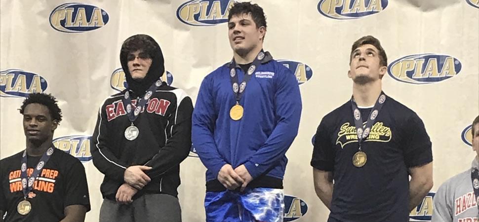 Schon wins 220-pound State Title.
