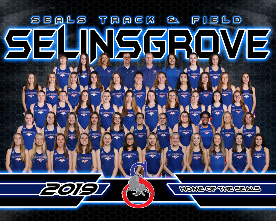 2019 Selinsgrove Seals Varsity Girls Track Roster