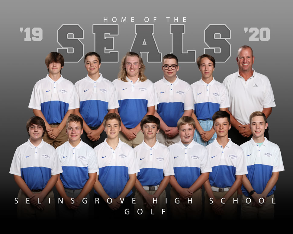 2019 Selinsgrove Seals Varsity Golf Roster
