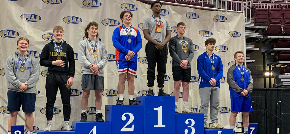 Schon places 2nd at PIAA Wrestling Tournament.