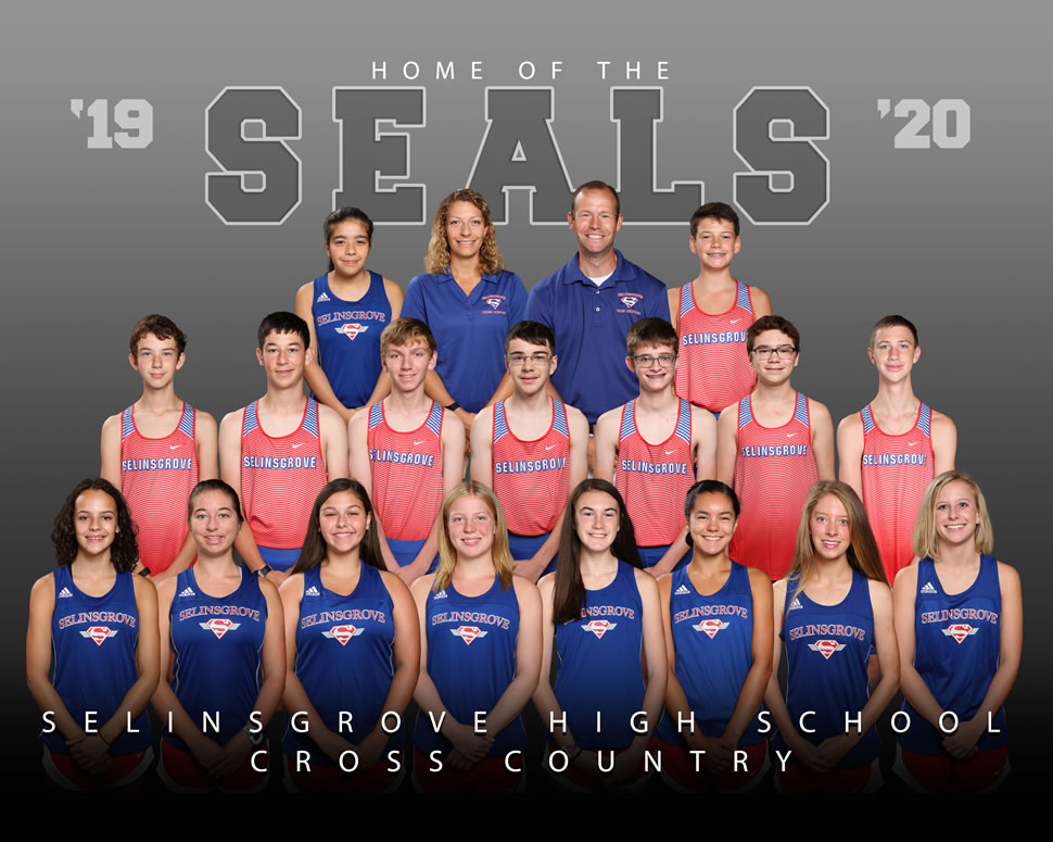 2019 Selinsgrove Seals Varsity Girls Cross Country Roster