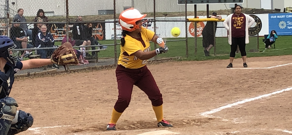 Lady Knights shut-out by Muncy 9-0.