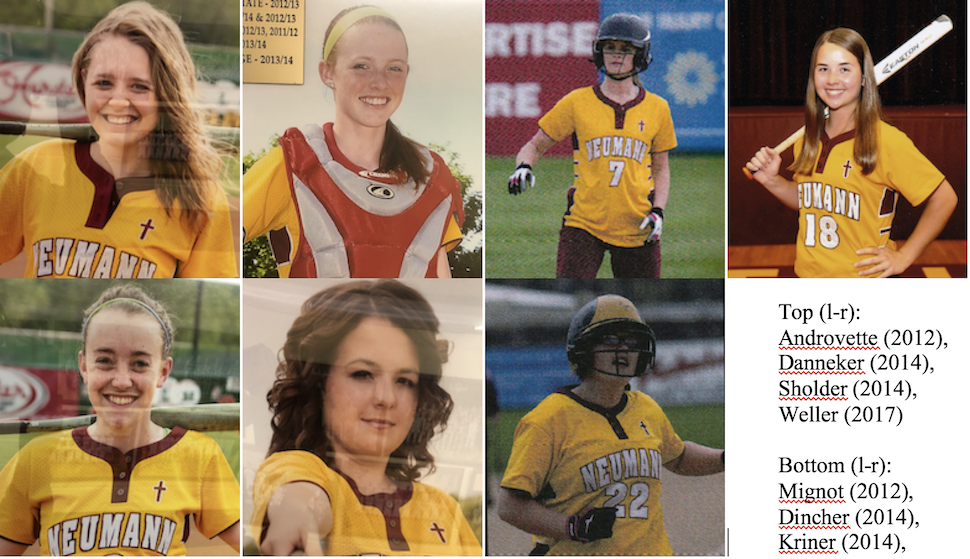 Friday Flashback - SJN Lady Knights Softball All-State Recipients