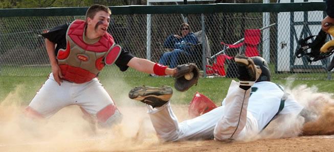 JV Baseball splits with Canton