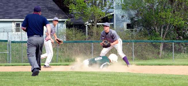 Hornets fall to Coudersport, 2-0.