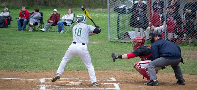 Hornet baseball falls to Troy, 8-2