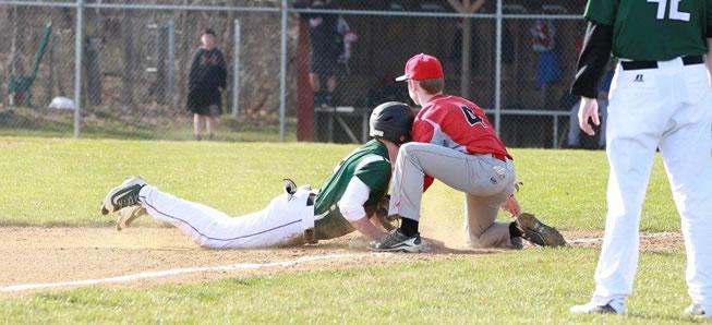 Hornet baseball clobbers Canton, 10-3