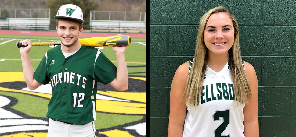 Brought, Wagaman named Athletes of the Year