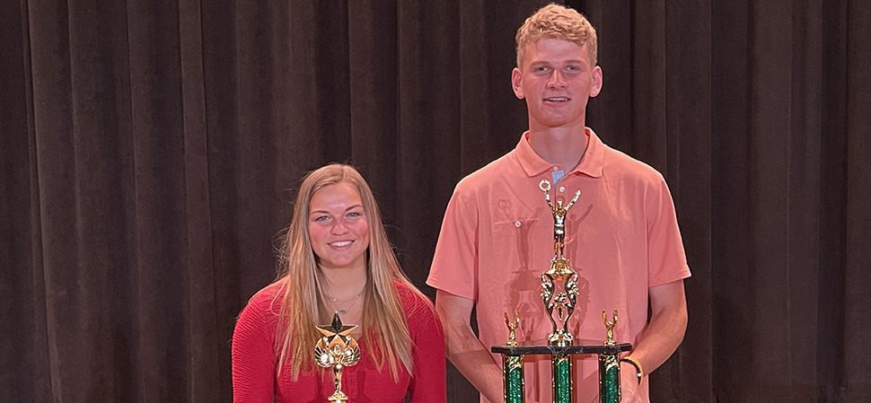 Clymer, Singer named Athletes of the Year