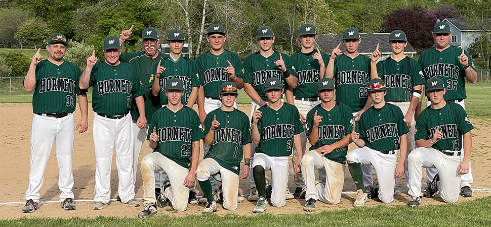 Hornets clinch NTL Large School Division title