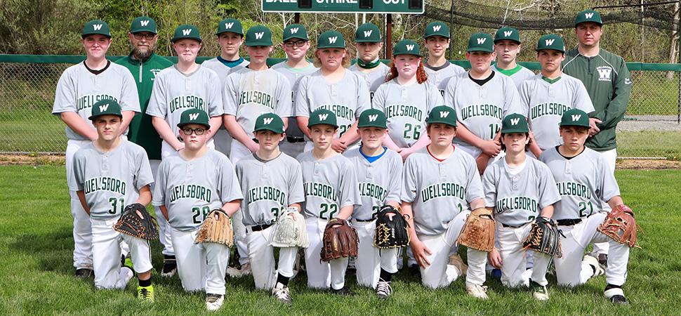 2021 Wellsboro Hornets Junior High Baseball Roster