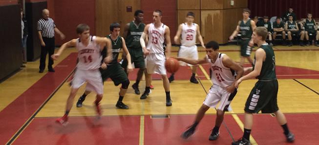 Hornet basketball tops Liberty, 54-34
