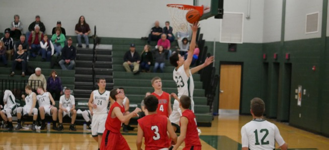 Hornets rout Canton, 72-21