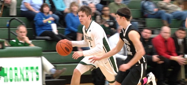 Hornets outlast Athens, 61-49.