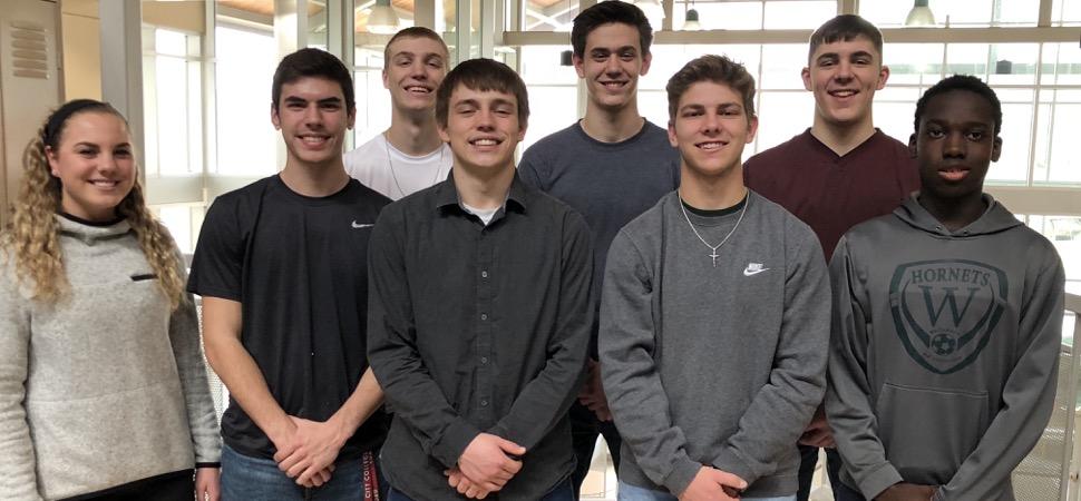 13 Hornets receive Wellsboro Gazette Winter Sports Awards