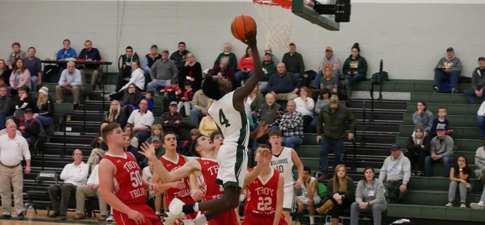 Hornets upset Troy, 67-60