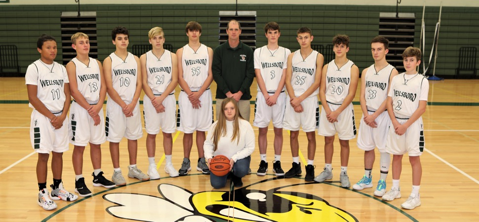 2019 Wellsboro Hornets Junior Varsity Boys Basketball Roster