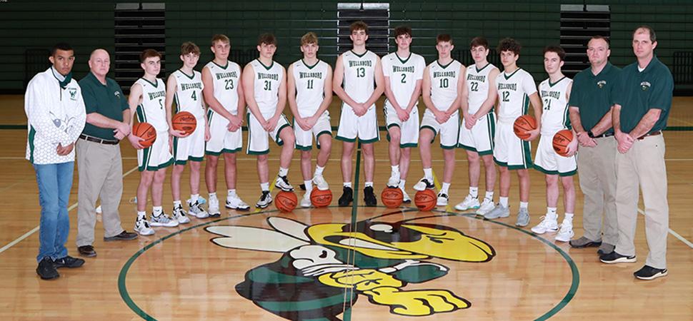2020 Wellsboro Varsity Boys Basketball Team