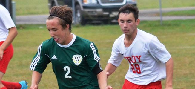 Hornet soccer ties Troy, 1-1