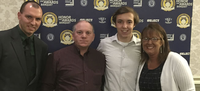 Hill named to All-State soccer team
