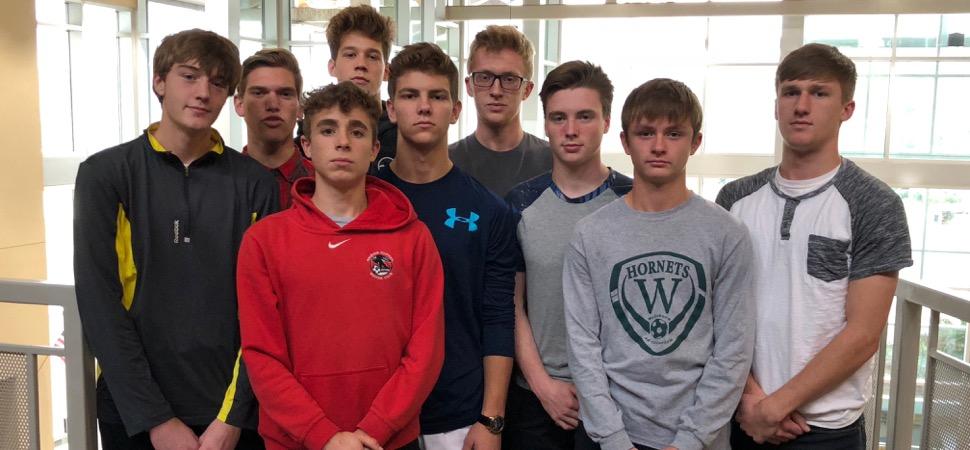 Nine Hornets named to All-Region Soccer team