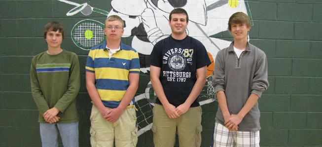 Four Hornet tennis players selected to All-Star team