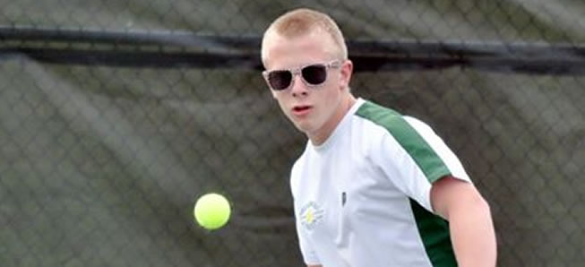 Hornet tennis fall to Towanda in final match of year