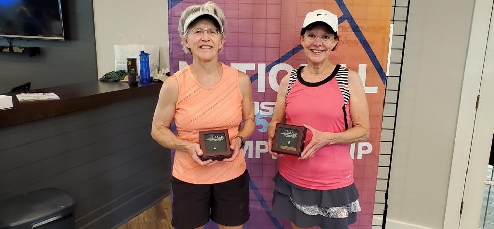 Hoffman captures bronze at Senior Women's 65's Indoor Tournament