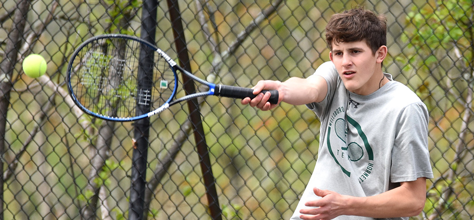 Hornets fall to Central Columbia in Boys Tennis Semi-Finals