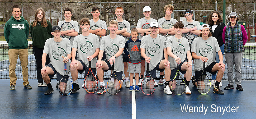 Hornets capture 3rd straight boys tennis league championship