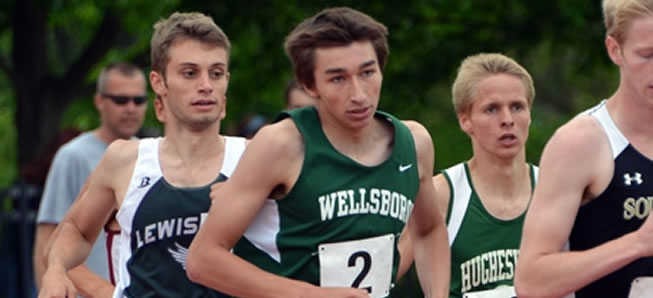 History Made at District Meet for Hornet Duo