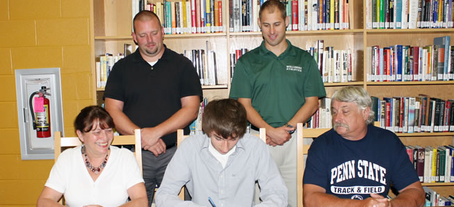 Hill to run Track, XC at Penn State