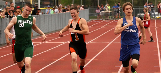 Hornet track finishes 5th at NTL Meet
