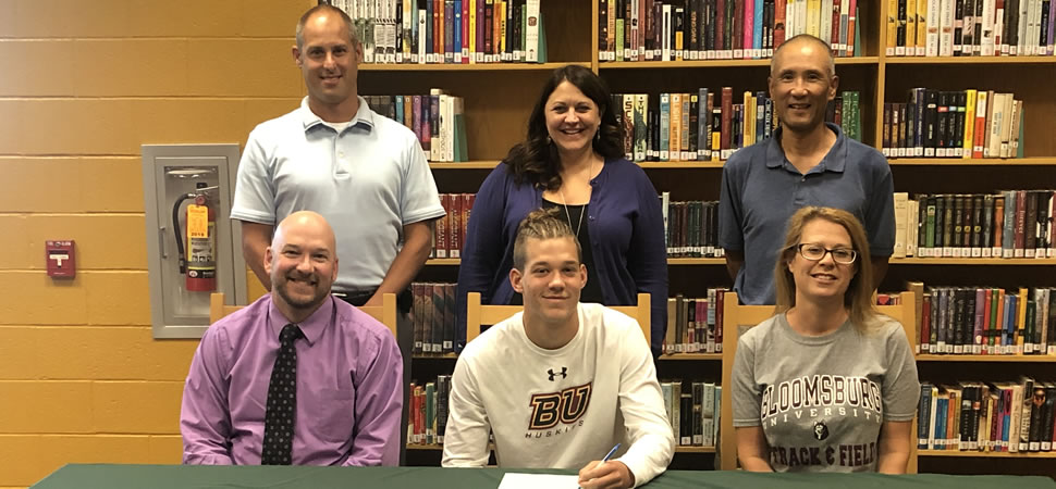 Tennis to Run Track at Bloomsburg.