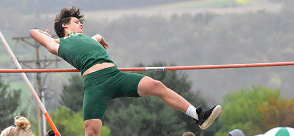 Hornet Track teams beat NEB, fall to Wyalusing